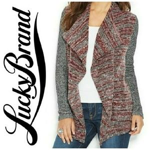LUCKY LOTUS by LUCKY BRAND waterfall sweater
